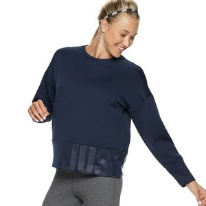 Nike dry training double knit top